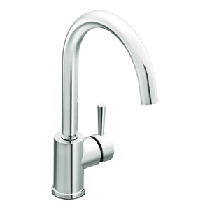 Moen Level One Handle High - Arc Kitchen Faucet in Chrome 7100