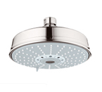 Grohe 27130BE0 Rainshower Rustic Shower Head - Sterling
