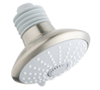 "Grohe 27247 EN0 Euphoria 1/2"" Massage Shower Head - Brushed Nickel"