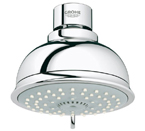 Grohe 27610 000 New Tempesta Rustic Shower Head IV - Chrome