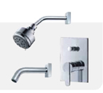 FLUID F2820-CP Wisdom Series Value Priced Tub & Shower Package - Chrome