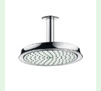 "Hansgrohe 28427821 Raindance C Shower Head with 10"" Spray Face - Brushed Nickel"