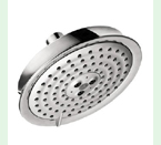 """Hansgrohe 28471821 Raindance C Shower Head Only Multi Function with 6"""" Spray Face - Brushed Nickel"""