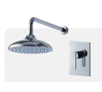 FLUID F2851-CP Wisdom Shower Trim Package - Chrome