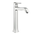 Hansgrohe 31078831 Metris C Tall Bathroom Faucet - Polished Nickel