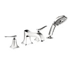 Hansgrohe 31314831 Metris C Roman Tub Filler Faucet with Diverter - Polished Nickel
