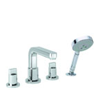 Hansgrohe 31446821 Metris S Roman Tub Filler Faucet with Diverter - Brushed Nickel