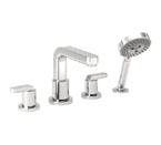 Hansgrohe 31448821 Metris S Roman Tub Filler Faucet with Diverter - Brushed Nickel