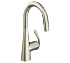 Grohe 32283 DCE Ladylux3 Pro Single Lever Kitchen Faucet - Supersteel