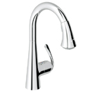 Grohe 32298 000 Ladylux3 Cafe Single Lever Kitchen Faucet - Chrome