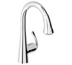 Grohe 32298 00E Ladylux3 Cafe Single Lever Ktichen Faucet - StarLight Chrome