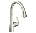 Grohe 32298 DCE Ladylux3 Cafe Single Lever Kitchen Faucet - Supersteel