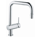 Grohe 32319 000 Minta Single Lever Kitchen Faucet - Chrome