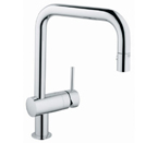 Grohe 32319 00E Minta Single Lever Kitchen Faucet - StarLight Chrome