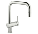 Grohe 32319 DCE Minta Single Lever Kitchen Faucet - Supersteel