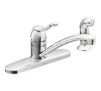 Moen Adler Chrome One-Handle Kitchen Faucet - CA87016