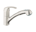 Grohe 32999 SD0 Alira Single Lever Kitchen Faucet - RealSteel
