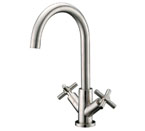 Alpha International 33-288 Brushed Chrome Bar Faucet