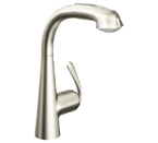Grohe 33893 DCE Ladylux3 Plus Single Lever Kitchen Faucet - Supersteel