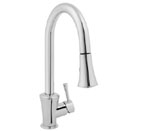 Jado 803/840/144 Basil Pull Down Kitchen Faucet - Brushed Nickel