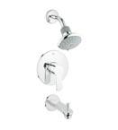 Grohe 35025 002 Eurostyle Cosmopolitan Pressure Balance Valve Bath Combination - Chrome