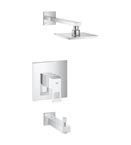 Grohe 35027 000 Eurocube Pressure Balance Valve Bath Combinations - Chrome