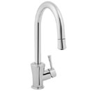 Jado 803/800/144 Basil Single Lever Kitchen Faucet - Brushed Nickel