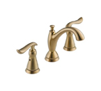 Delta 3594LF-CZMPU Linden Two Handle Widespread Lavatory Faucet - Champagne Bronze