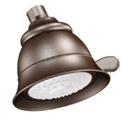 Moen Oil Rubbed Bronze Four Function Eco-Performance Showerhead - 3838EPORB