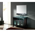 """48"""" Solid Wood Bathroom Vanity Set with Counter Top, Mirror and Faucet CB4811"""