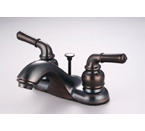 Hardware House 12-2269 2-Handle Lavatory Faucet - Oil Rubbed Bronze