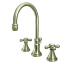 Kingston Brass KS2988AX Governor Widespread Lavatory Faucet - Nickel