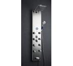 Akdy Tempered Glass Shower Panel Az787392M Rain Style Massage System