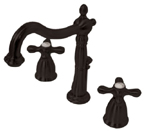 Kingston Brass CC57L5 Vintage Widespread Lavatory Faucet - Oil Rubbed Bronze