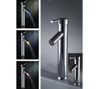 Light In The Box 0698-L-4012 Single Handle LED Lavatory Vessel Sink Faucet - Chrome