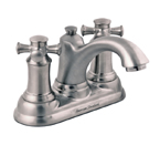 American Standard 7415.221.295 Portsmouth Centerset Faucet With Cross Handles - Satin Nickel