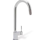 Blanco 440595 Cubiq Chrome Faucet W/ Pull-Down Spray
