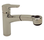 Blanco 440655 Merker Plus Satin Nickel Faucet W/ Pullout Spray