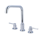 Pioneer Faucets Motegi Collection 127290-H54-SS Two Handle Kitchen Widespread Faucet - PVD Stainless Steel