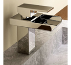 Light In The Box QH210 Single Handle Waterfall Vanity Sink Faucet - Chrome