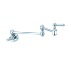 Pioneer Faucets Americana Collection 125610-H65 Wallmount Pot-Filler - PVD Polished Chrome