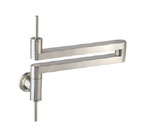 Jado 800/901/144 Contemporary Pot Filler Kitchen Faucet - Brushed Nickel