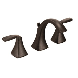 Moen Voss Two Handle High - Arc Bathroom Faucet in Oil Rubbed Bronze T6905ORB