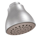 "Moen Brushed Chrome One Function 2-1/2"" Diameter Easy Clean XL Showerhead - 6300BC"