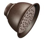 "Moen Oil Rubbed Bronze One Function 4-3/8"" Diameter Eco-Performance Showerhead - 6302EPORB"