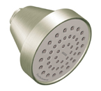 "Moen Brushed Nickel One Function 3-5/8"" Diameter Standard Showerhead - 6399BN"