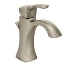 Moen Voss Brushed Nickel One Handle High Arc Bathroom Faucet - 6903BN