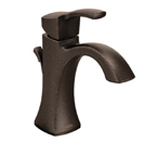 Moen Voss Oil Rubbed Bronze One Handle High Arc Bathroom Faucet - 6903ORB