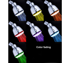 MagicShowerhead SH1026 7 LED Colors Fading Shower Head