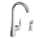 Moen Arbor Spot Resist Stainless One Handle High Arc Kitchen Faucet - 7790SRS